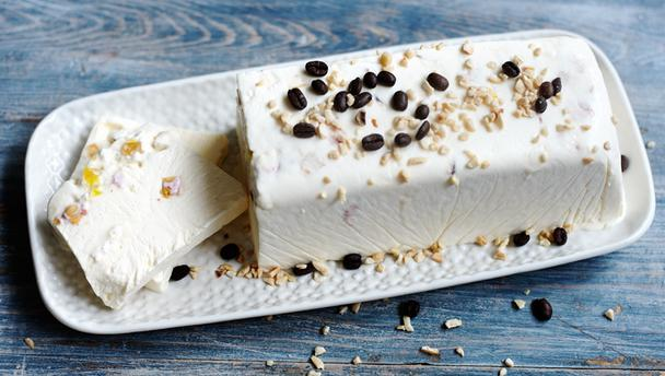Semifreddo with nougat
