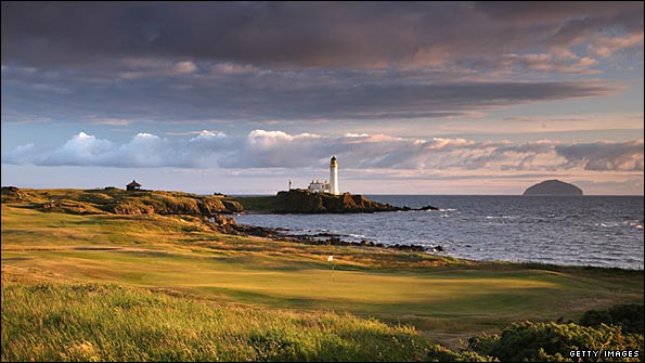 The dramatic 10th at Turnberry