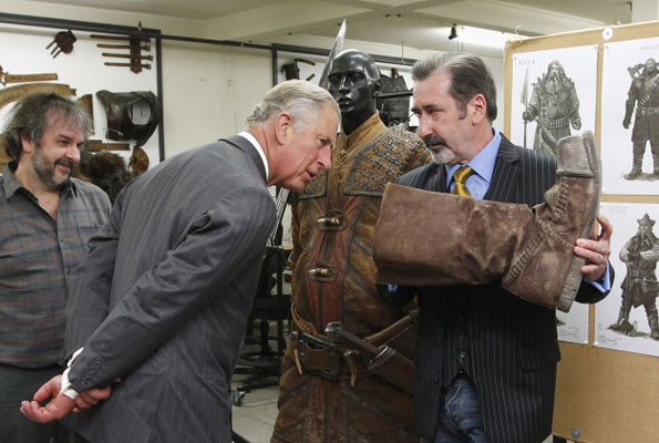 Prince Charles and a boot