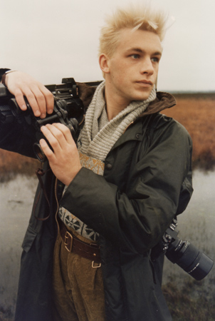 Chris Packham in 1983