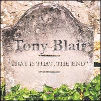 Blair's gravestone