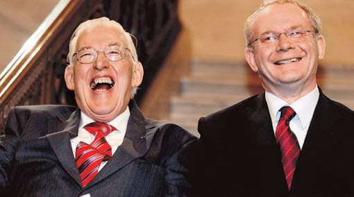 The Chuckle Brother, Ian Paisley and Martin McGuinness