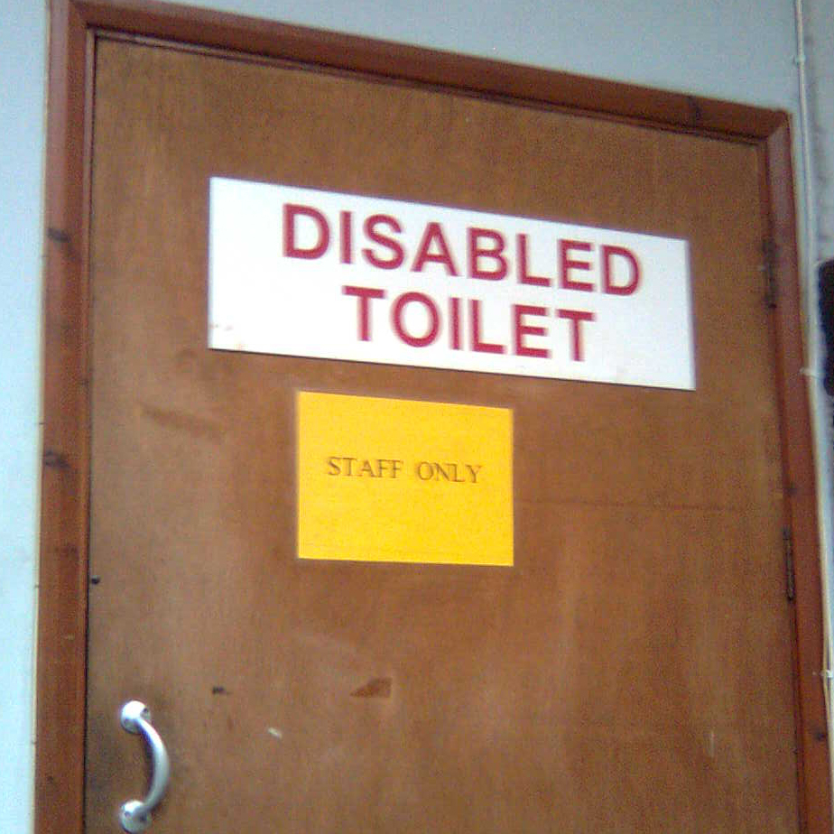Handicap Bathroom Comedy bbc - the ouch! blog: disabled toilet etiquette
