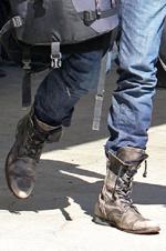 Mens Fashion Combat Boots