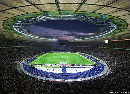 The Olympic Stadium in Berlin