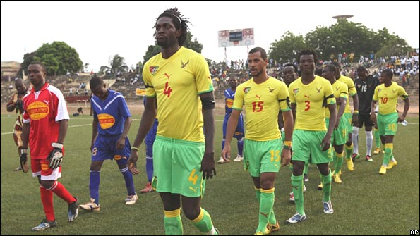 Togo players