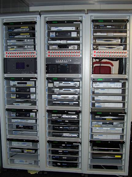 Set top boxes in the test farm