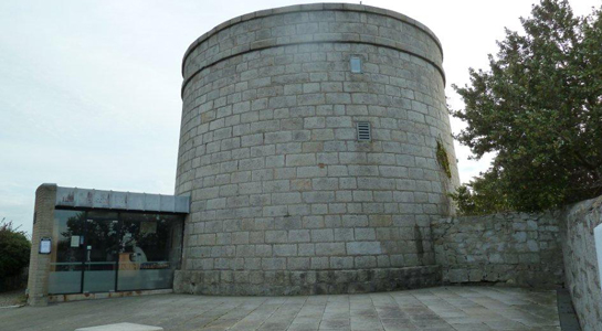 The Martello Tower in Dublin