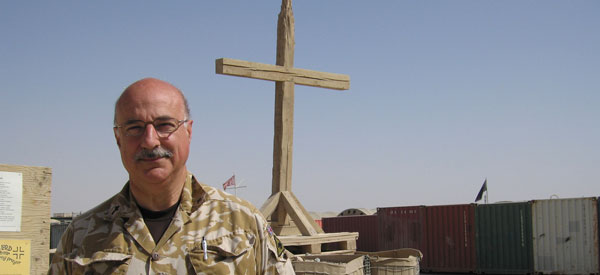 Padre Andrew Martlew, presenter of Radio 4's Sunday Worship from Helmand