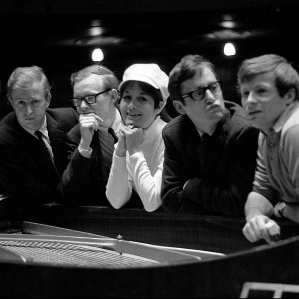 Tim Brooke-Taylor, Graeme Garden, Jo Kendall, David Hatch and Bill Oddie from 1965