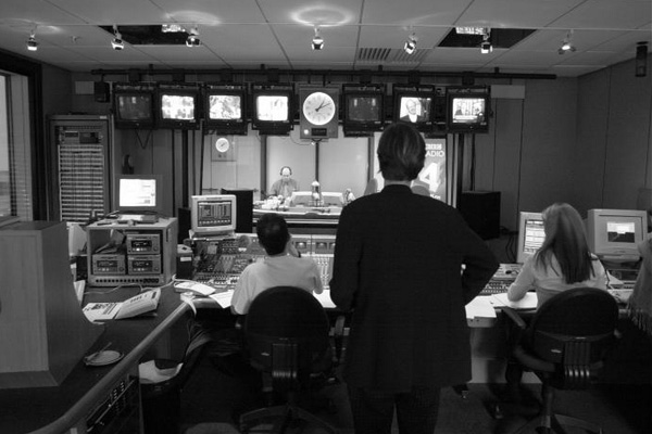 World at One radio news studio gallery, 2002