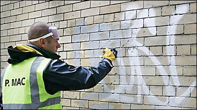 El graffiti del siglo xxi conocer ciencia - Como limpiar grafitis ...