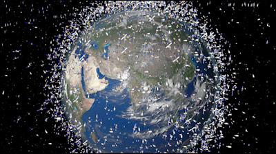 ¿Cuántos satélites hay en el espacio?