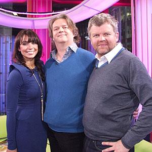 Christine, Paul Merton and Adrian