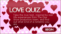 bbc the one show one passions blog love quiz compare your love quiz 206x116