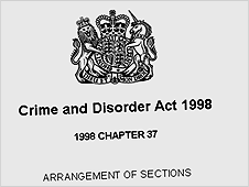 Crime and Disorder Act 1998
