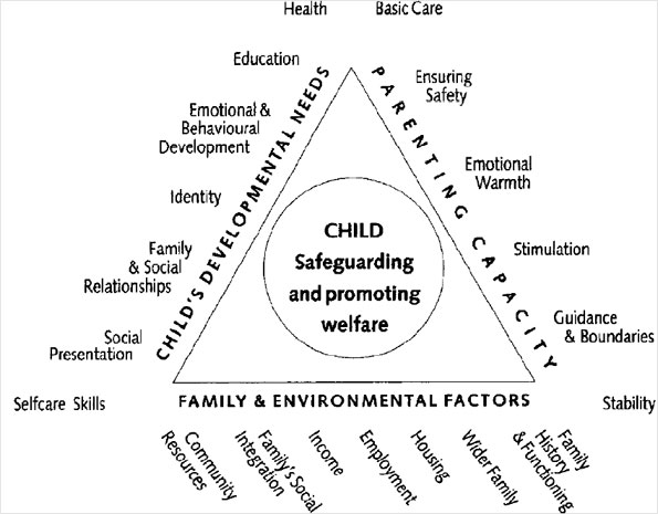 Framework diagram by the Department of Health, 2000