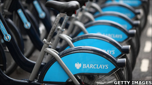 Barclays cycle hire bikes