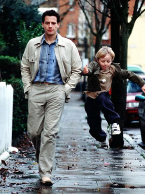 Ioan Gruffudd as Harry and Dominic Howell as Pat in Man And Boy