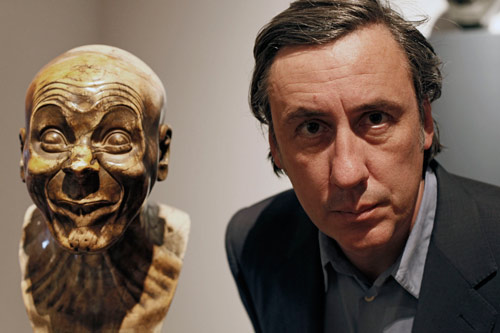 Andrew Graham-Dixon and sculpted character heads by Franz Xaver Messerschmidt