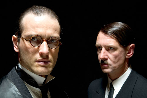 Lawyer Hans Litten (Ed Stoppard) and Adolf Hitler (Ian Hart)