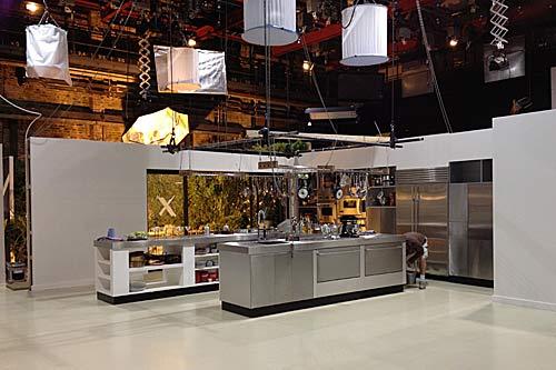 Bbc bbc tv blog nigellissima how we built the kitchen set for Tv in kitchen design