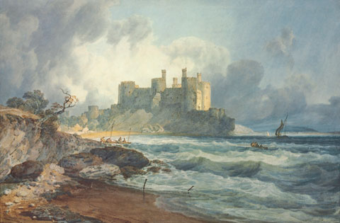 Conway Castle, North Wales by JMW Turner. Image: Christie's Images Ltd. 2010