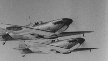 RAF fighter planes