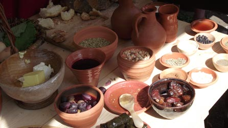 Roman feast Carleon