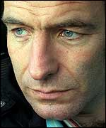 robson green plays dr tony hill in the tv series wire in the blood.