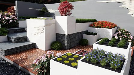 BBC - RHS Chelsea Flower Show 2009 - The Modern Rock Garden