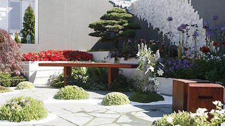 BBC - Chelsea Flower Show 2010 - The Waterless Water Garden