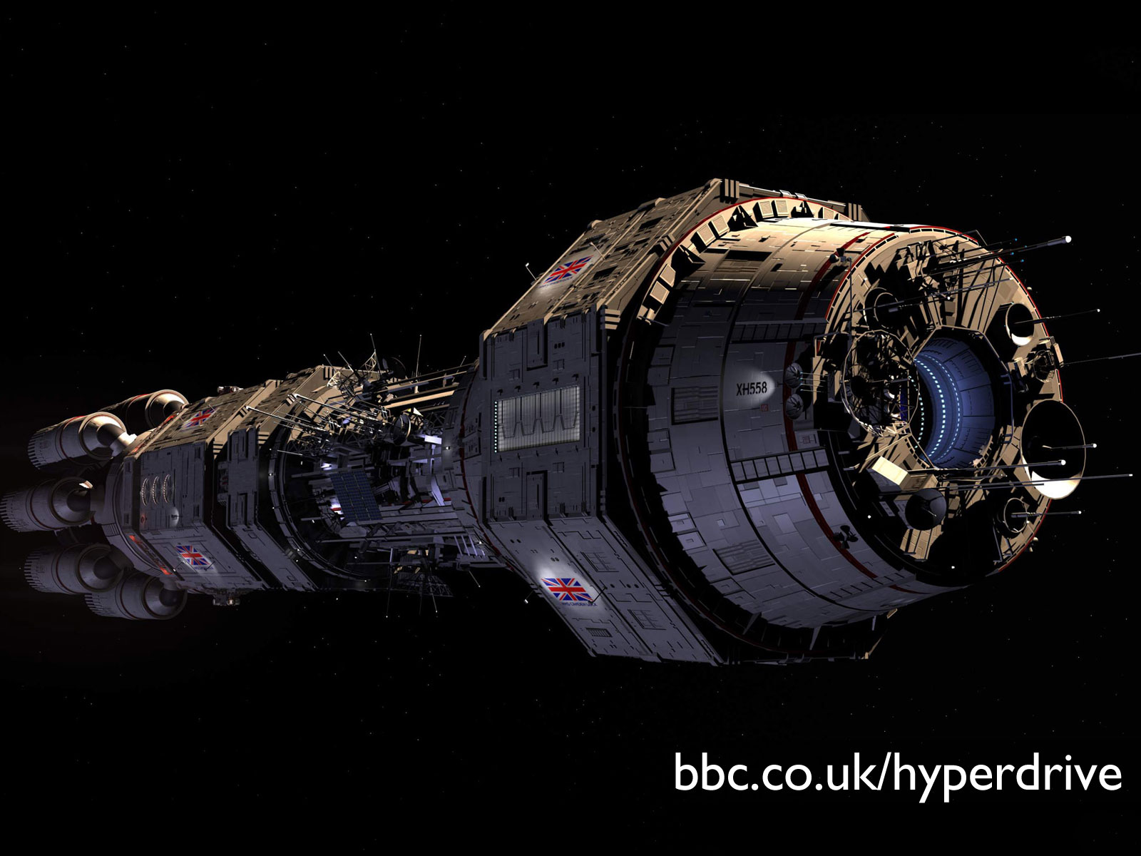 spaceship pictures bbc comedy hyperdrive wallpapers desktop wallpaper 4645