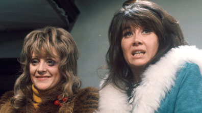 Beryl (Polly James) and Sandra (Nerys Hughes)
