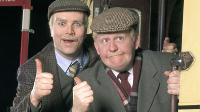 Greg Hemphill as Victor and Ford Kiernan as Jack