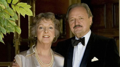 Audrey (Penelope Keith) and Richard (Peter Bowles)