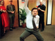 David dances