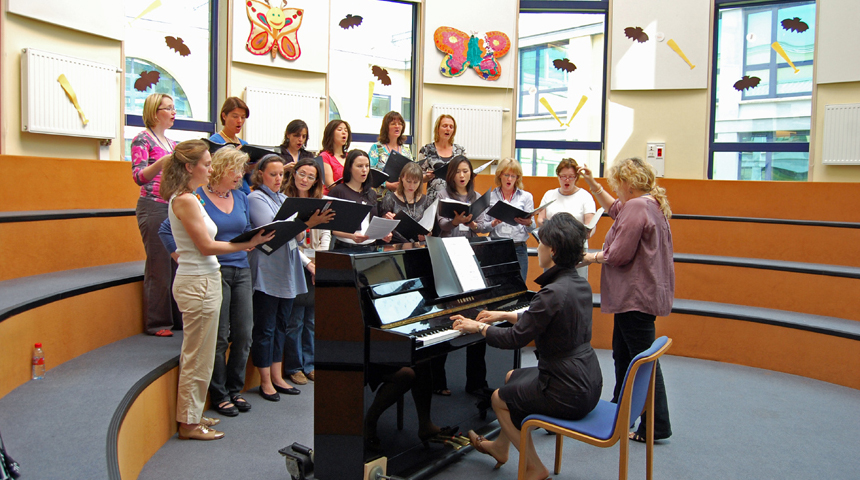The Parents' Choir of the American School in Warsaw