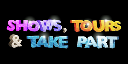 Shows, Tours and Take Part logo