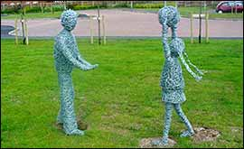 Bbc Coventry And Warwickshire Features School Sculptures