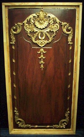 Panel de uno de los set de la pelicula Titanic 1997