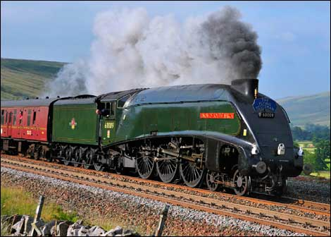 LNER  A4 Pacific, No 60009, Union of South Africa
