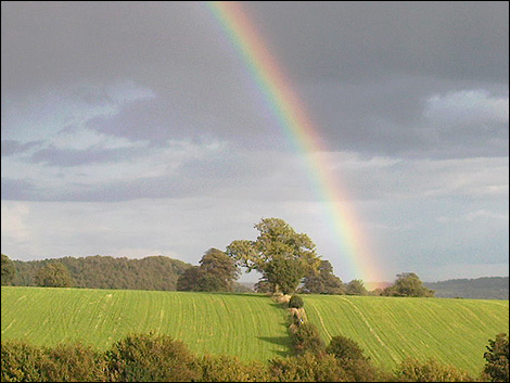 Rainbow at Shottle Gate (Photo: Amy Wells)