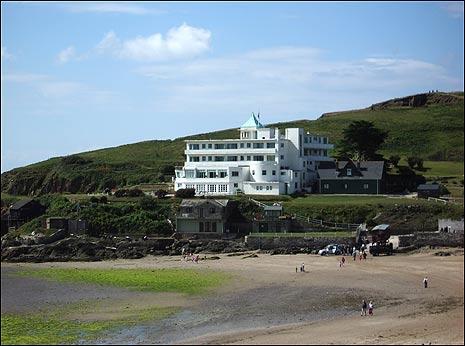 Agatha Christie House On Island