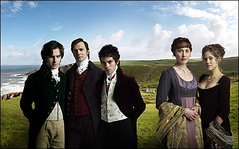 The cast of Sense and Sensibility