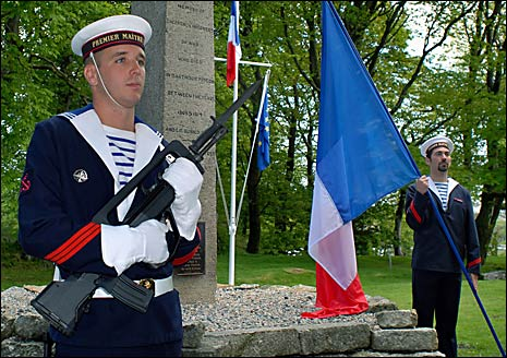 French sailors