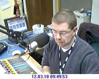 Radio Devon Plymouth studio 1B