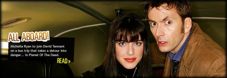 David Tennant and Michelle Ryan