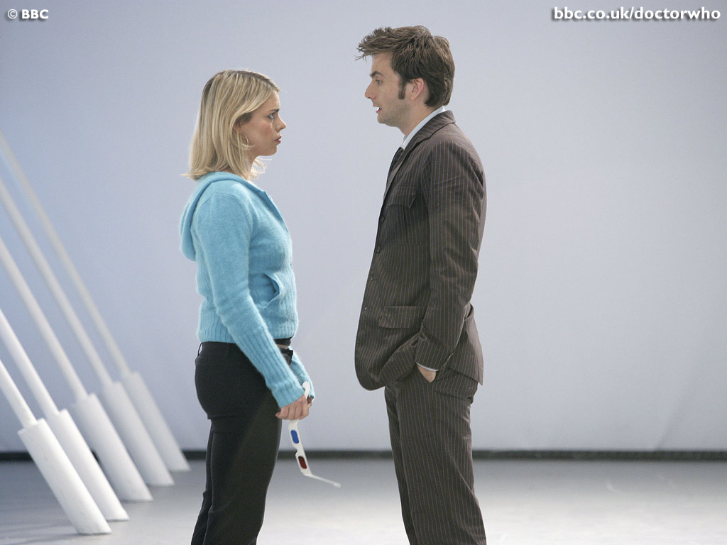 Tenth Doctor And Rose Doomsday The Doctor And Rose