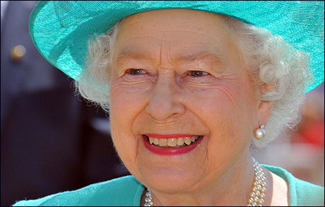 Her Majesty The Queen in Weymouth